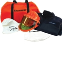 Salisbury Arc Flash HRC2 Level Kit, No Gloves, FR Cotton 11 Cal Navy Coverall
